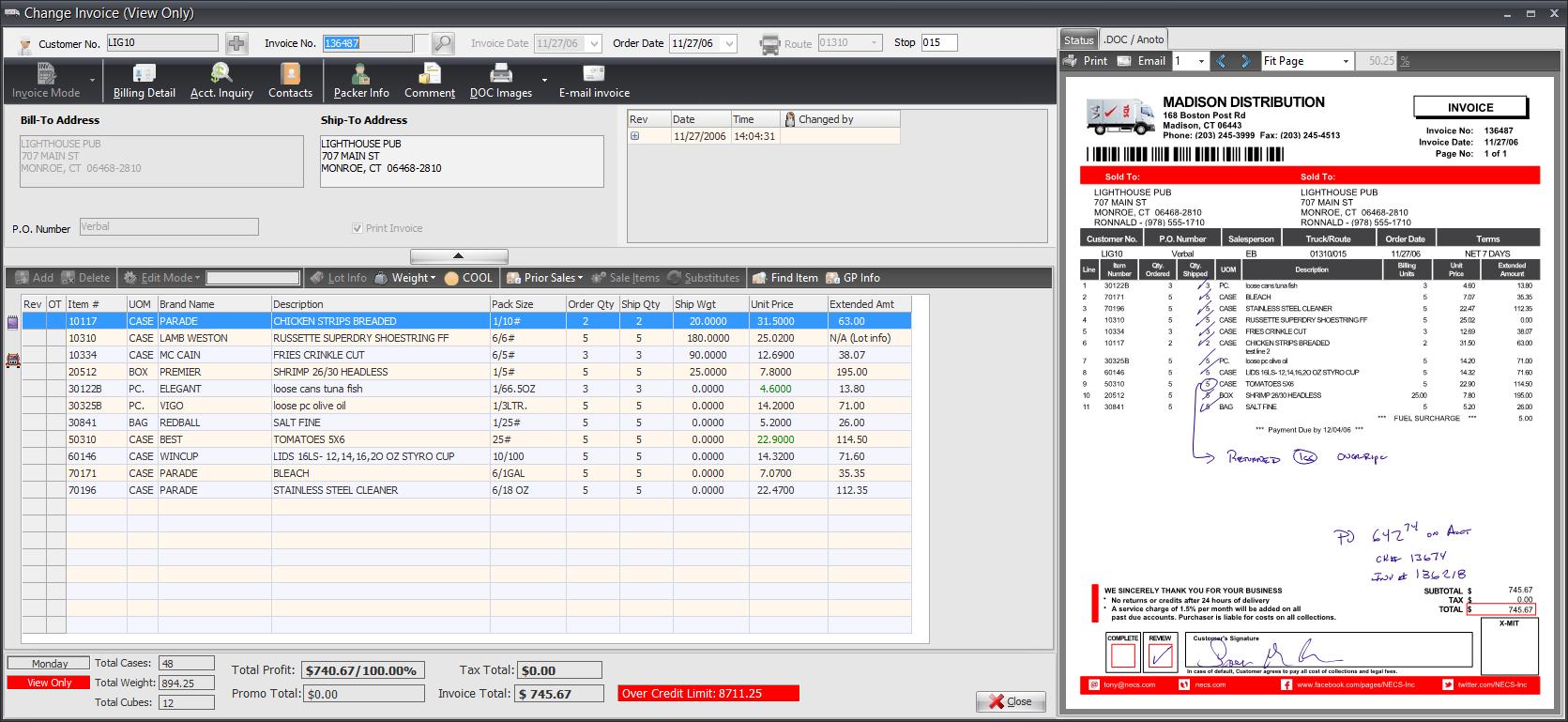 Anoto Digital Pen Promotion - Digital invoice software